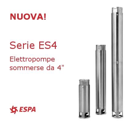 ESPA Italia - nuova serie ES4